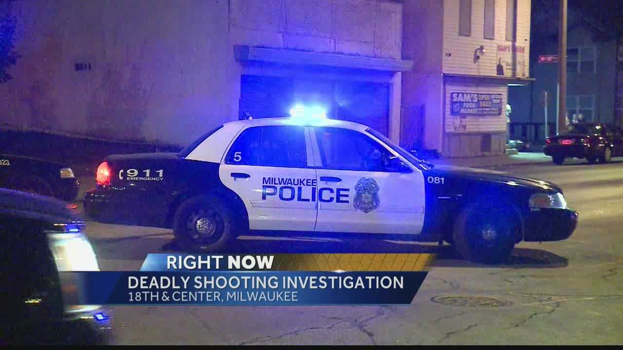 Milwaukee police said someone drove two victims of an overnight shooting to St. Joseph's Hospital. A 22-year old man died and a 20-year-old woman is being treated for her injuries.