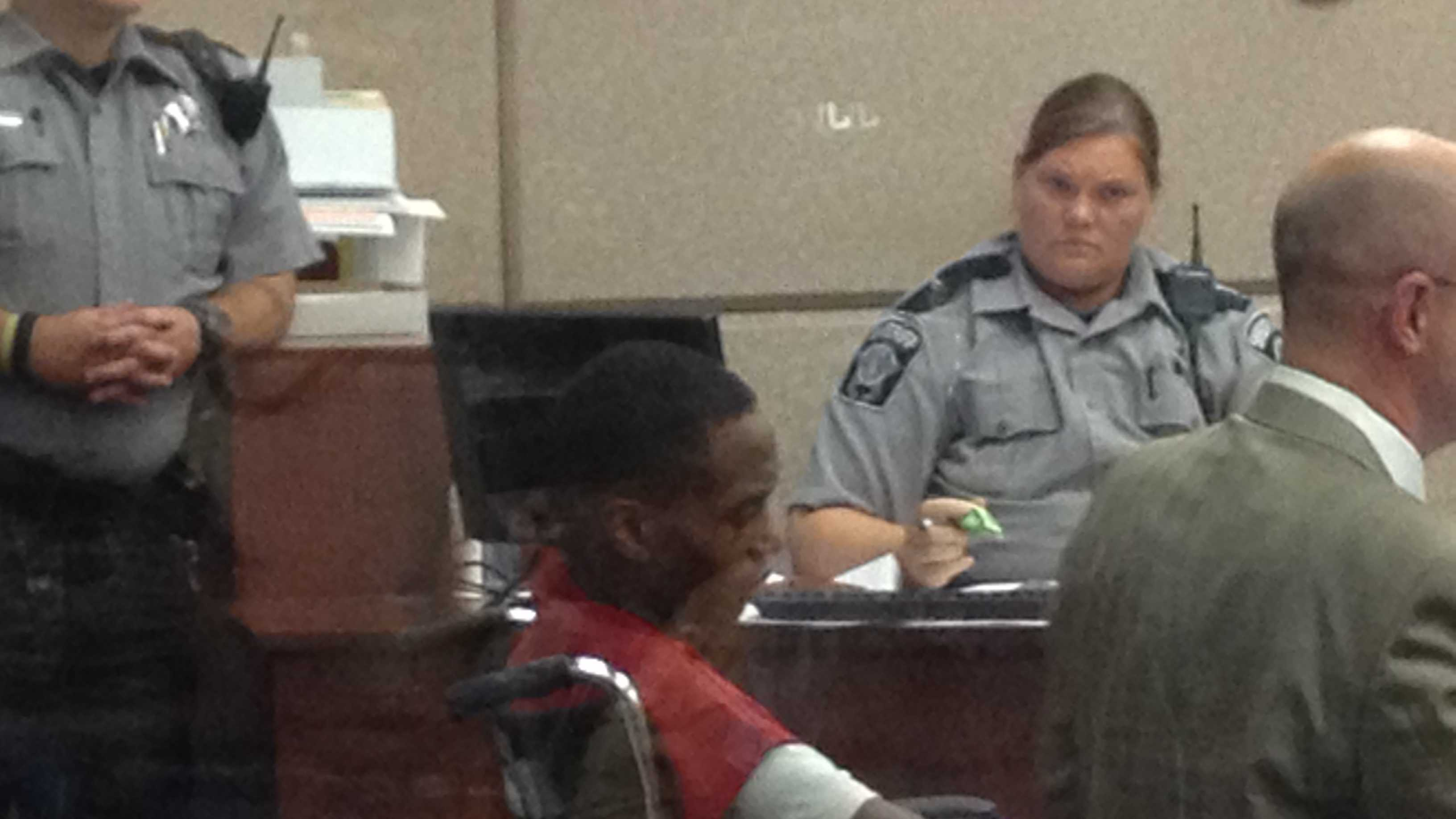 Tory Johnson in court