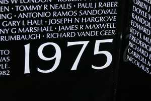 1975 was the year the last 18 casualties occurred.