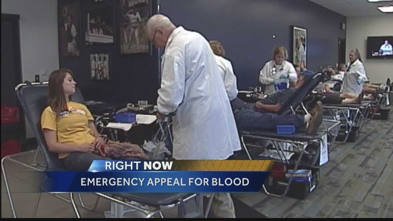The BloodCenter of Wisconsin will keep donation centers open late to accept additional donations for an emergency appeal of blood. WISN 12 News' Hillary Mintz reports.