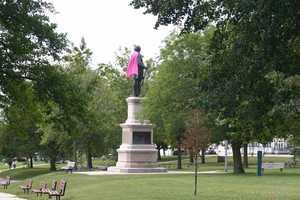 Solomon Juneau statue at Juneau Park