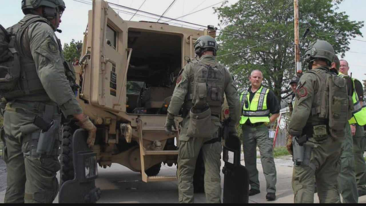 Several law enforcement agencies participate in active shooter training