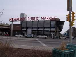 Click here to see more from inside the Milwaukee Public Market.