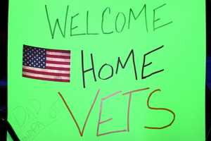 After each trip the airport fills with family, friends and strangers to welcome home these heroes.