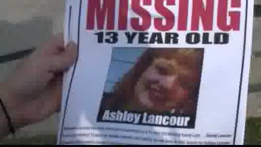 Ashley missing