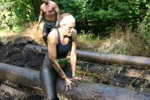 This 7+ mile obstacle course tests mental and physical endurance.