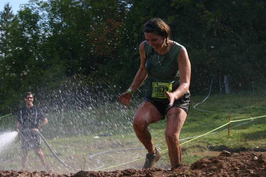 Click here to see video of two of the wettest obstacles.