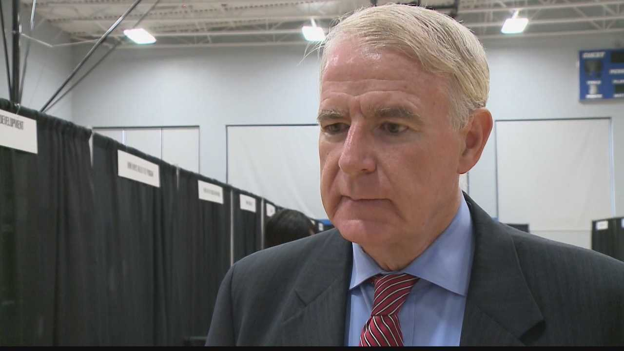 Mayor Tom Barrett comments on the nine suspended firefighters