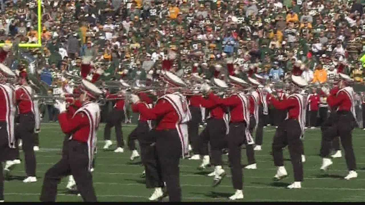 Members of the University of Wisconsin marching band said a Detroit Lions made some rather harsh and unprovoked remarks before Sunday's game in Green Bay.