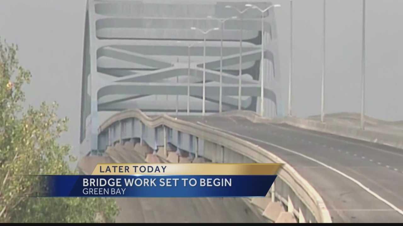 Repair work on Green Bay bridge to begin