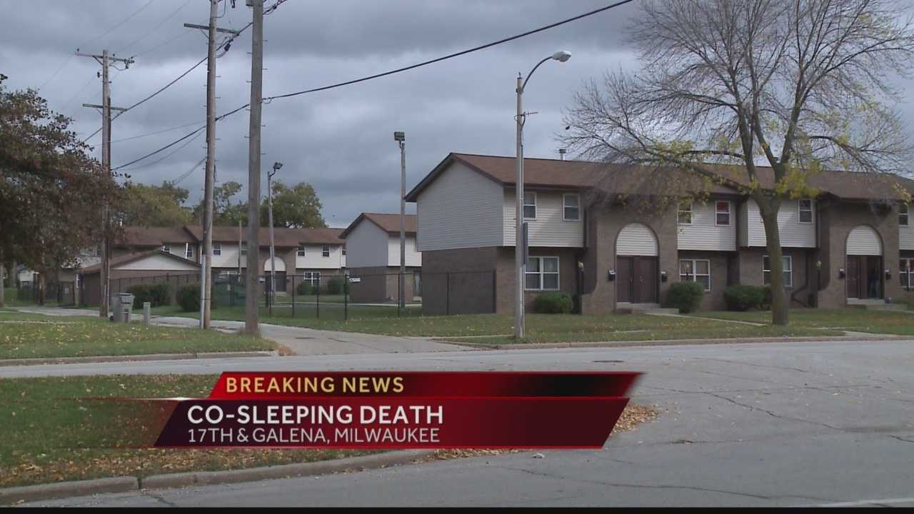 The Milwaukee County Medical Examiner is investigating the death of a 40-day old infant who was sleeping in a bed with her mother and father.