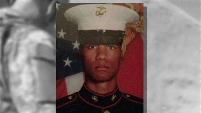 Funeral held for Milwaukee Marine