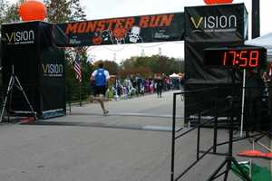 First place 5k runner, around 18 minutes.