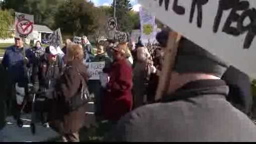 bus protest