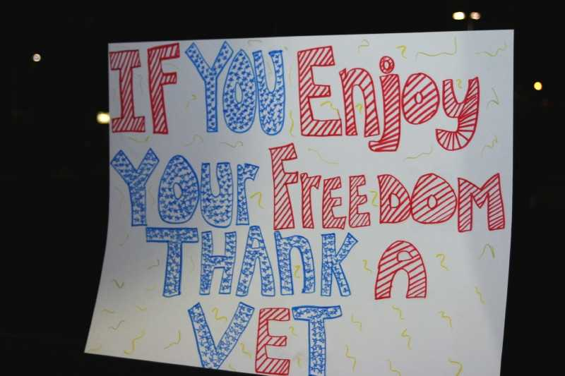 """If you enjoy your freedom, thank a vet."""