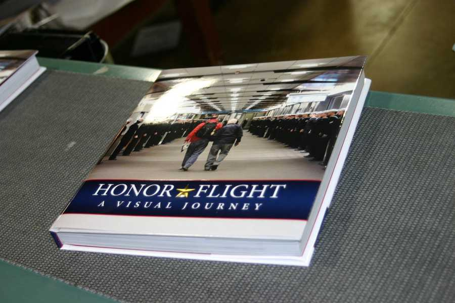 On Thursday the final Honor Flight- A Visual Journey books rolled off the presses.
