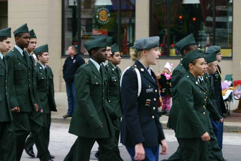 Hamilton High School JROTC.