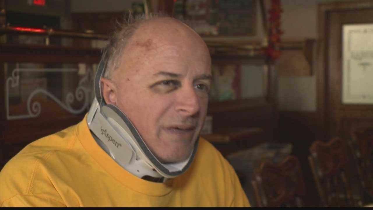 "Steve ""The Homer"" true, injured in an accident Nov. 13, 2013"