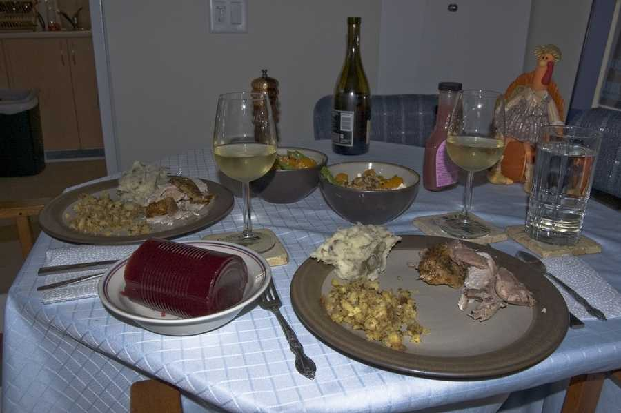 The Wisconsin Farm Bureau said 2013's Thanksgiving meal will cost 48 cents less than last year and more than $0.60 less than the national average. Take a look at what your dinner table will cost you: