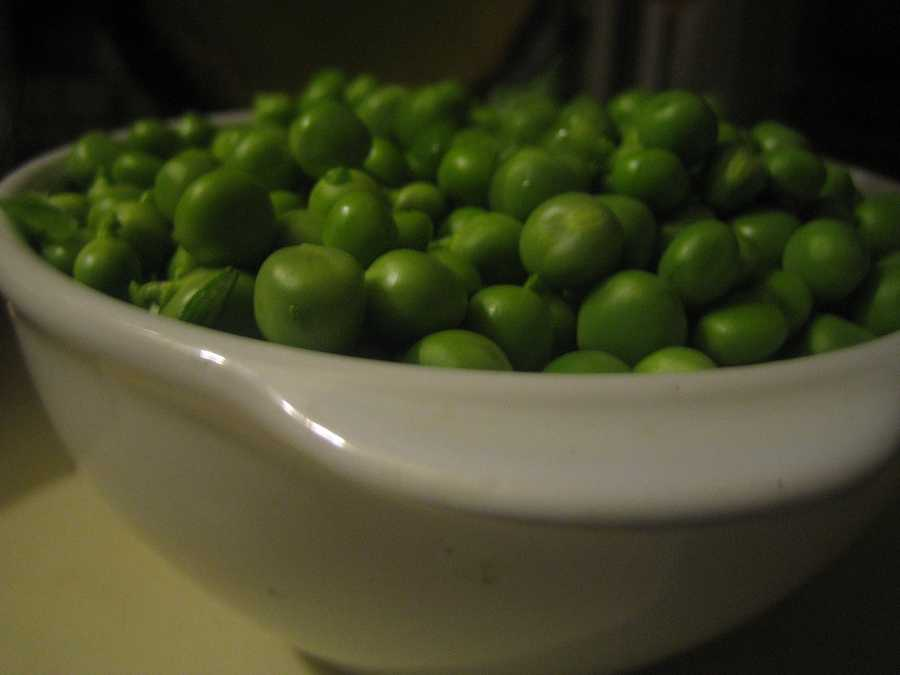 1 pound green peas - $1.63. Up from $1.58 last year.