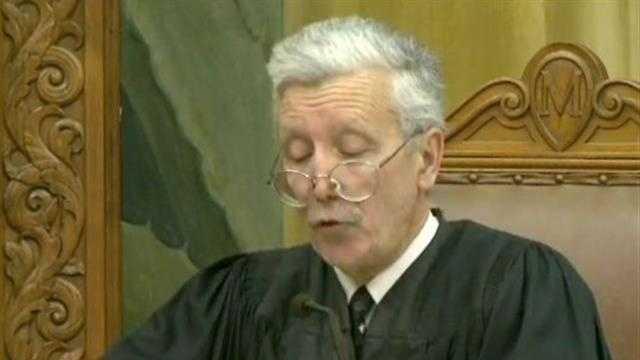 Judge reads verdict