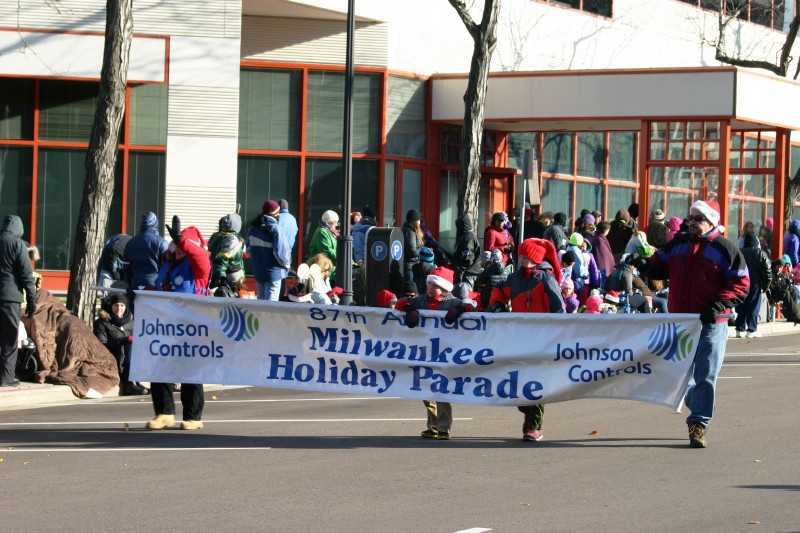 Despite the coldest weather of the season, the streets were lined with people ready for a holiday tradition.