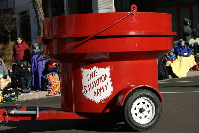 """Salvation Army """"Red Kettle"""""""