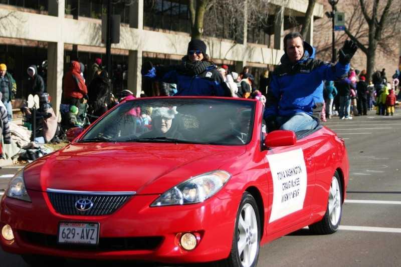 12 News Anchors Toya Washington and Craig McKee