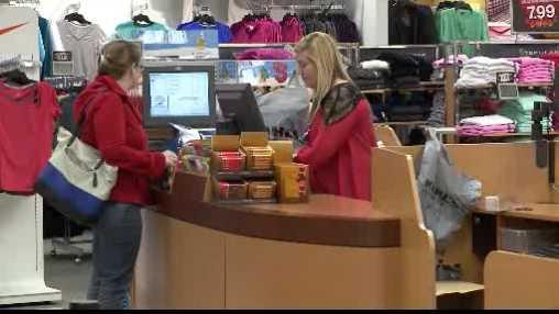 Kohl's shopper -- inside