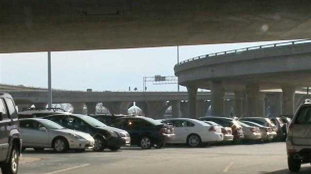 The construction work on the Hoan Bridge may leave some drivers in a parking crunch.
