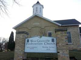 West Granville Presbyterian Church opened their doors so that the Peace Lutheran Academy choir could perform in this historic church.