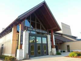 The Sharon Lynne Wilson Center for the Arts in Brookfield was the setting for I'm Not a Pilot to perform.