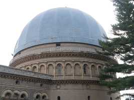 """The observatory was part of our """"holiday hide and seek"""" portion of the show."""