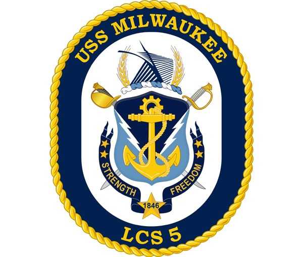 The fifth ship to bear the name USS Milwaukee is set to be christened on Dec. 18, 2013.