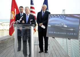 The U.S. Navy announced the naming of the Littoral Combat Ship in 2011.