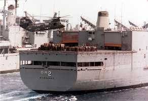 The Milwaukee participated in Operation Vietnam Ceasefire from Nov 1972 through Feb 1973 and earned one campaign star.