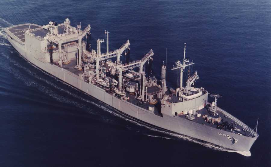 The fourth USS Milwaukee, AOR-2, was a Wichita-class replenishment oiler commissioned in 1969.