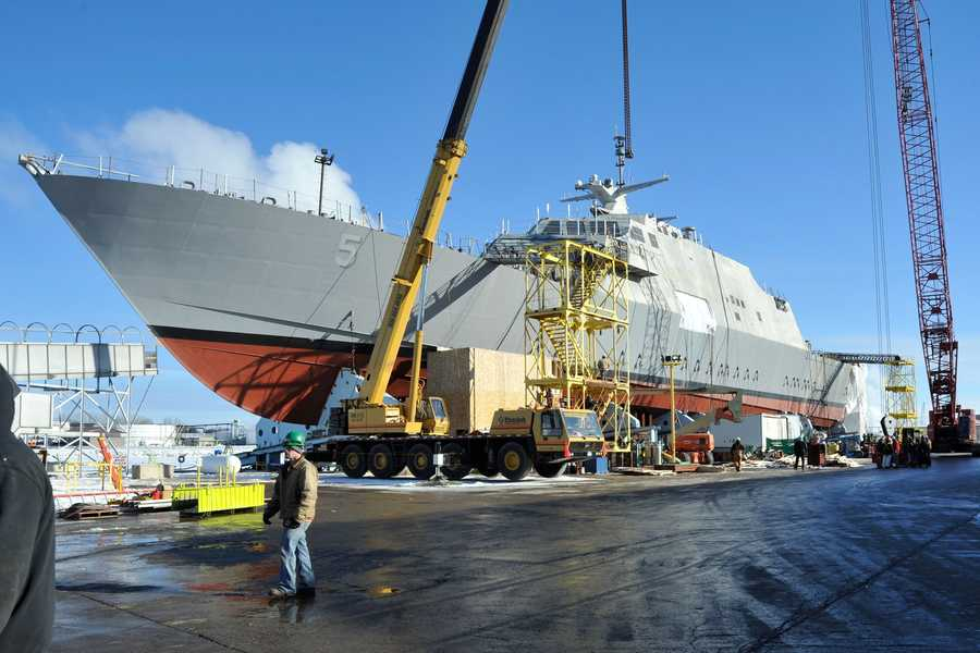 The USS MILWAUKEE (LCS-5) is expected to be delivered to the Navy and christened along Milwaukee's lakefront in spring 2015.