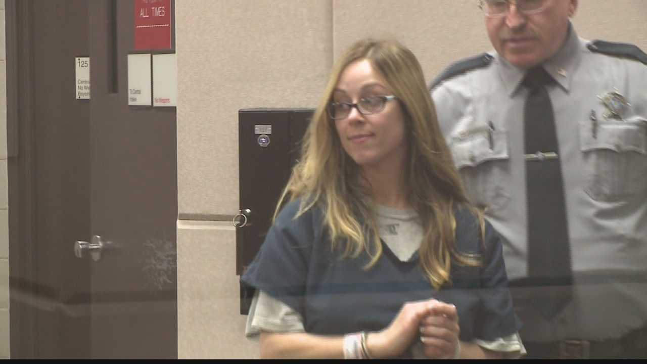 A woman who was captured on camera driving the wrong way down a Milwaukee interstate highway for six miles was charged and made an initial appearance in court Wednesday.
