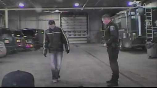drunken driver walking on squad video