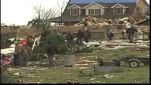 Kenosha tornado damage