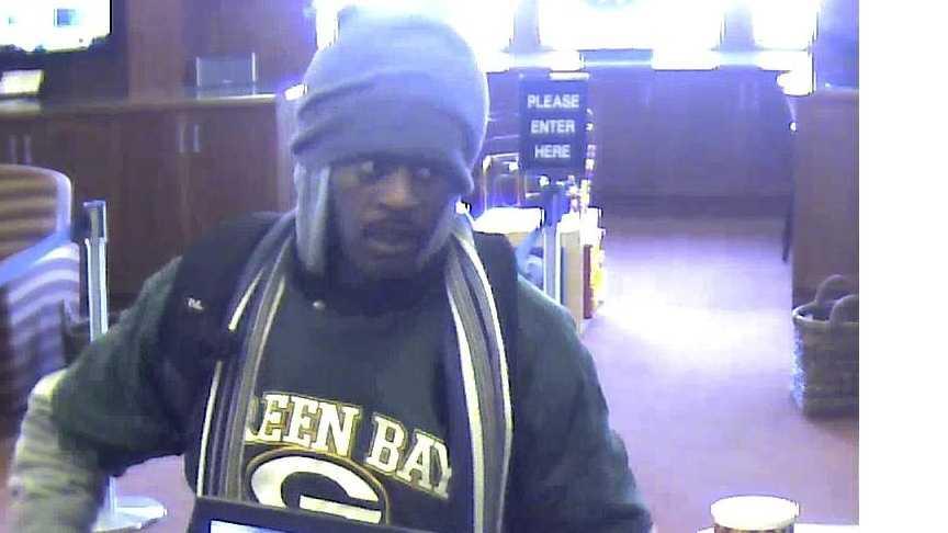 South Milwaukee bank robber