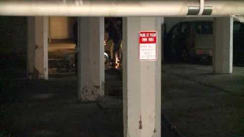 Third Ward parking garage flood