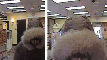 Greenfield bank robber