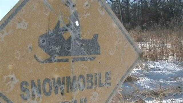 Many trails are closed because of the type of snow this winter.