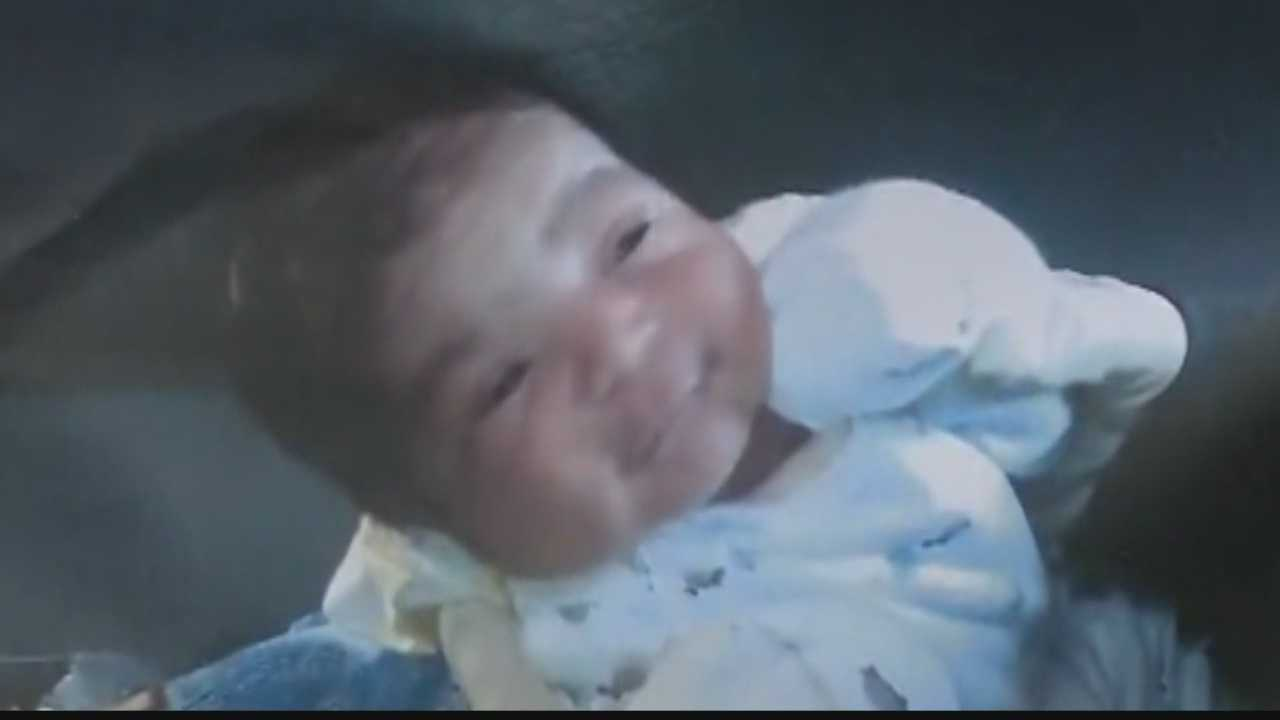 Police in Iowa find a missing newborn outside in the cold -- alive and seemingly well.