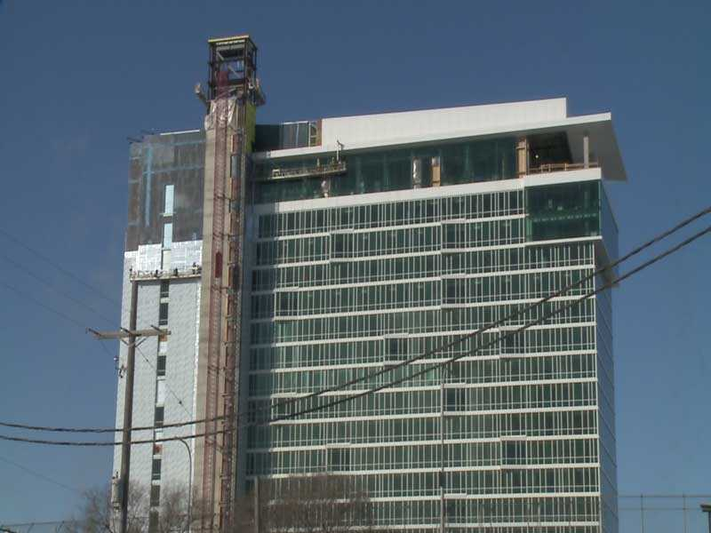 Get a sneak peek inside the new Potawatomi Hotel, expected to be finished this fall.