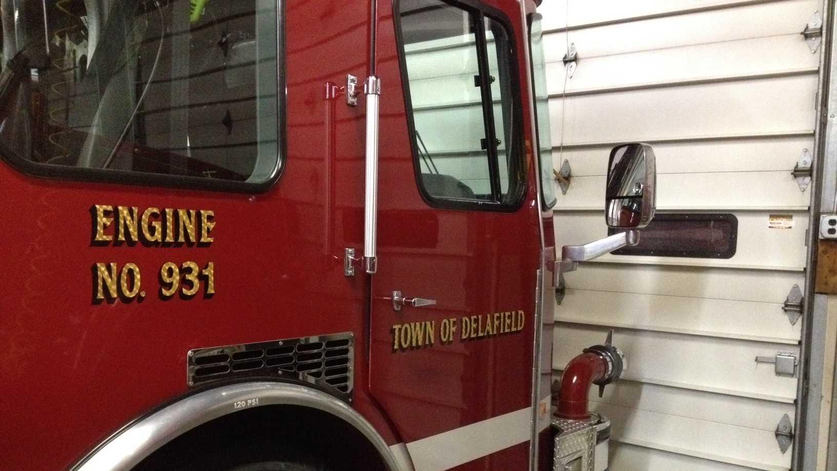 Town of Delafield fire truck