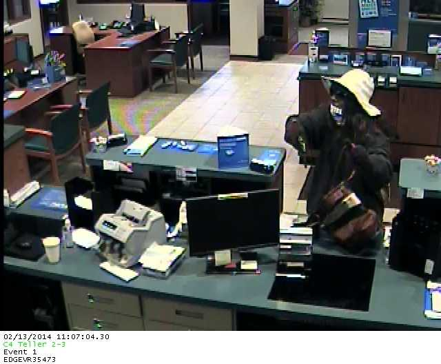 A man robbed the BMO Harris Bank on Capitol Drive in Brookfield on Thursday morning.