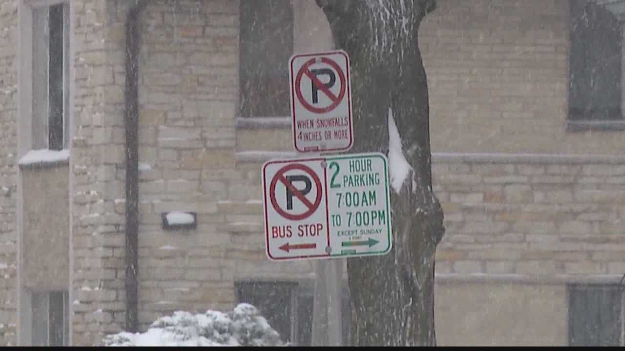 Snow covered roads cause messy commute for some drivers